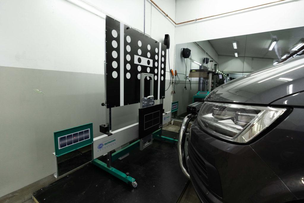 Kuljettajan tukijärjestelmän kalibrointi eli ADAS-kalibrointi Sailokoskella Ylivieskassa